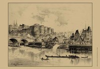 Riverside Estate II Fine Art Print