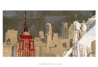 "Small Modern Metropolis II by Ethan Harper - 19"" x 13"""