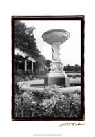 """13"""" x 19"""" Garden Architecture"""