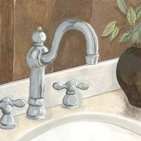 Contemporary Bath III by Megan Meagher - various sizes