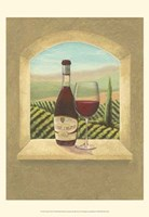 "Vineyard Vista I by Joelle McIntyre - 13"" x 19"""