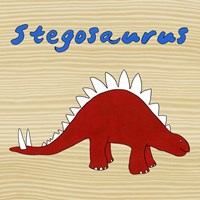 Stegosaurus by Megan Meagher - various sizes