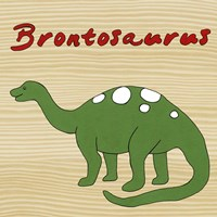 Brontosaurus by Megan Meagher - various sizes