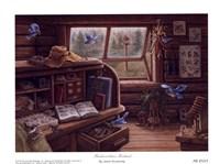 "Birdwatchers Retreat by Janet Kruskamp - 8"" x 6"" - $9.49"