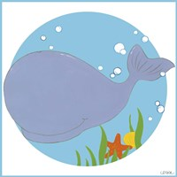 Wally the Whale Fine Art Print