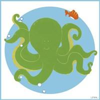 Olga the Octopus Fine Art Print