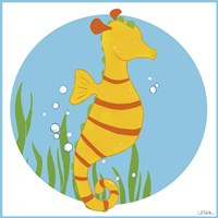 Sally the Seahorse by June Erica Vess - various sizes