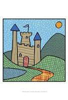 Calico Kingdom I Fine Art Print