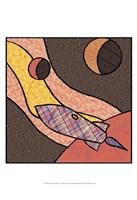 Patchwork Planets II Fine Art Print