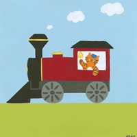 Circus Train I by June Erica Vess - various sizes