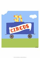 Circus Train II Fine Art Print