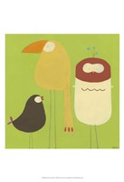 Feathered Friends I Fine Art Print