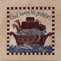 God Keeps His Promises Fine Art Print