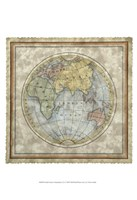 "Small Eastern Hemisphere by Vision Studio - 13"" x 19"""