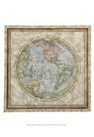 "Small Western Hemisphere by Vision Studio - 13"" x 19"""