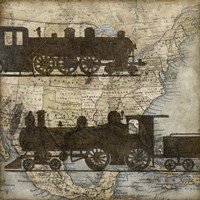 Travel Silhouette I by Megan Meagher - various sizes