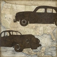 Travel Silhouette IV by Megan Meagher - various sizes