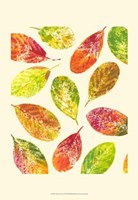 Vibrant Leaves I Fine Art Print