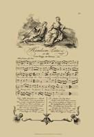 """Handsom Patie by George Bickham - 13"""" x 19"""""""