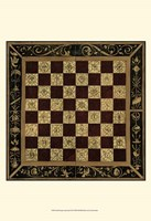 Small Antique Gameboard I (P) Fine Art Print