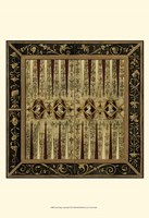 """Small Antique Gameboard II (P) by Vision Studio - 13"""" x 19"""""""
