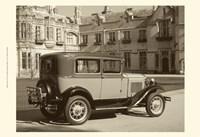 Vintage Cars I Fine Art Print