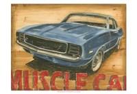 Vintage Muscle II Fine Art Print
