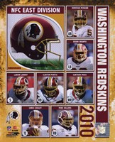 2010 Washington Redskins Composite Fine Art Print