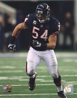 Brian Urlacher 2010 Action Fine Art Print