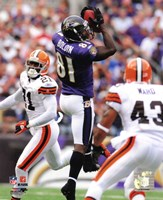"Anquan Boldin 2010 Action - 8"" x 10"""