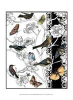 "Small Aviary II by Chariklia Zarris - 10"" x 13"""
