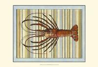 Seashore Lobster Fine Art Print