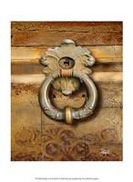 Handles on Gold III Fine Art Print