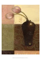 "Ebony Vase with Tulips I by Norman Wyatt Jr. - 13"" x 19"""