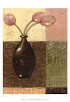 "Ebony Vase with Tulips II by Norman Wyatt Jr. - 13"" x 19"""
