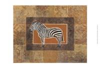 """19"""" x 13"""" Zebra Art"""