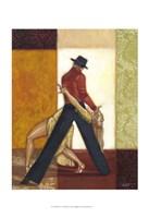 "Dance IV by Norman Wyatt Jr. - 13"" x 19"""