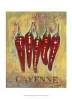Cayenne Framed Print