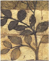 Bronzed Branches I Fine Art Print