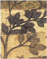 Bronzed Branches II Fine Art Print
