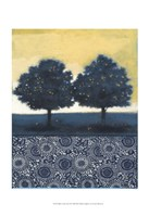 "Blue Lemon Tree II by Norman Wyatt Jr. - 13"" x 19"", FulcrumGallery.com brand"