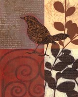 "Paisley Sparrow by Norman Wyatt Jr. - 16"" x 20"" - $15.49"