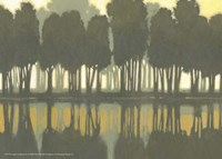 "Lake at Dawn II by Norman Wyatt Jr. - 7"" x 5"""