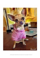 "Chihuahua Bella by Robert McClintock - 13"" x 19"""