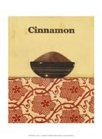 "Exotic Spices - Cinnamon by Norman Wyatt Jr. - 10"" x 13"""