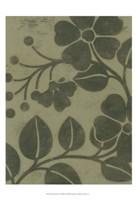 "Sage Textile I by Norman Wyatt Jr. - 13"" x 19"""