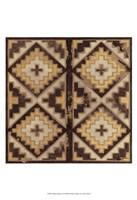 """Antique Mudcloth IV by Norman Wyatt Jr. - 13"""" x 19"""""""