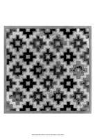 "Mudcloth Black & White II by Norman Wyatt Jr. - 13"" x 19"""