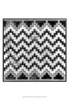 "Mudcloth Black & White III by Norman Wyatt Jr. - 13"" x 19"""