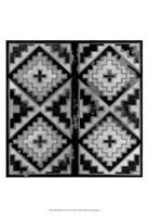 "Mudcloth Black & White IV by Norman Wyatt Jr. - 13"" x 19"""